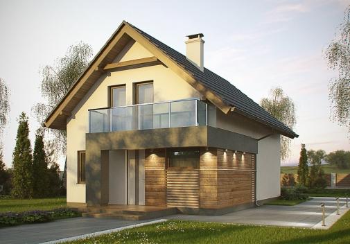 Проект будинку Z174 в Киеве