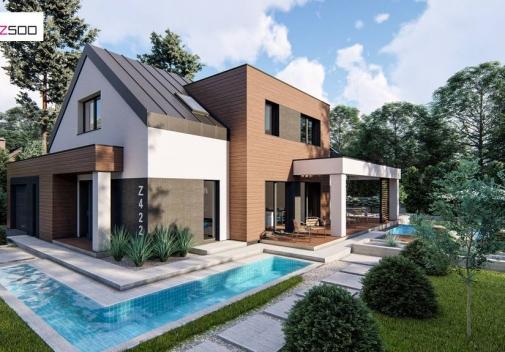 Проект будинку Z422 у Києві