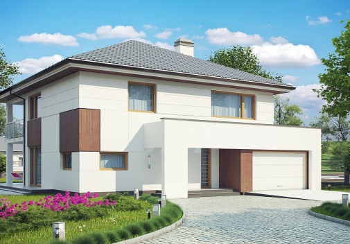Проект будинку Z156 в Киеве