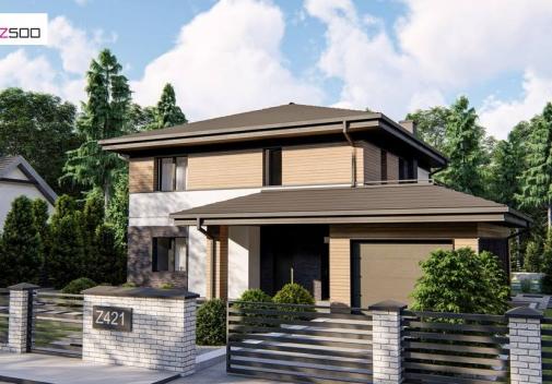 Проект будинку Z421