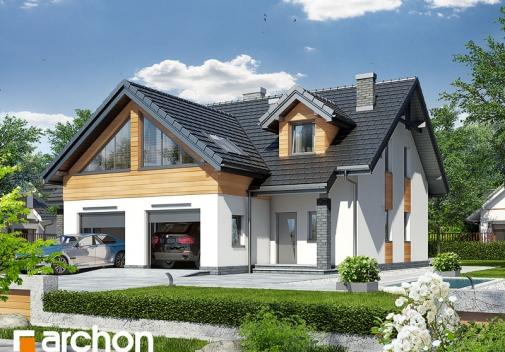 Проект будинку Будинок у клематисах 11 у Києві