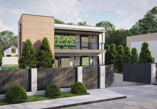 Проект будинку Zx174 у Києві