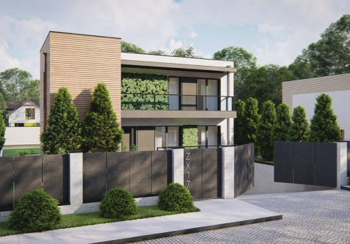 Проект будинку Zx174 в Киеве