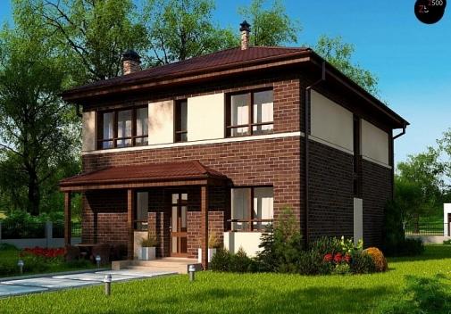 Проект будинку Zx24 a v1 у Києві