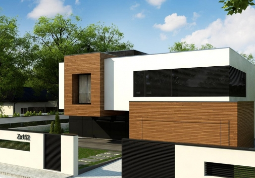 Проект будинку Zx152 в Киеве