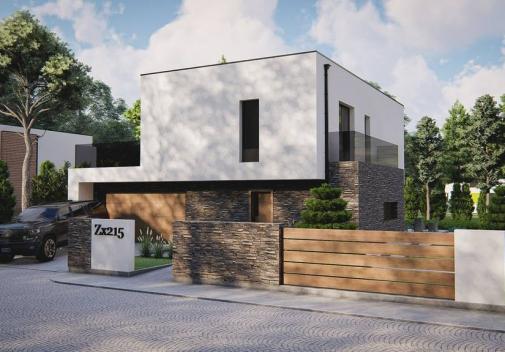 Проект будинку Zx215 у Києві