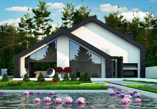 Проект будинку Zx250 в Киеве