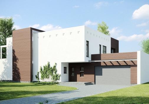 Проект будинку Zx1 у Києві