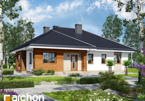Проект будинку Будинок в герані у Києві