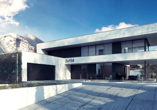 Проект будинку Zx154 у Києві