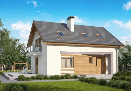 Проект будинку Z255 B pc у Києві
