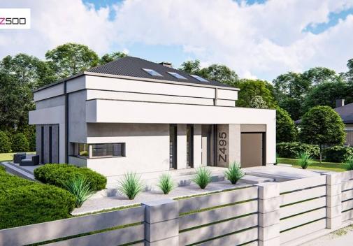 Проект будинку Z495 у Києві