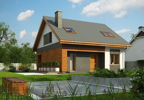 Проект будинку Z62 A minus в Киеве