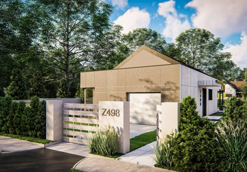 Проект будинку Z498 в Киеве