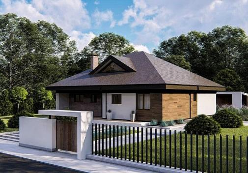Проект будинку Zz230 V1 в Киеве