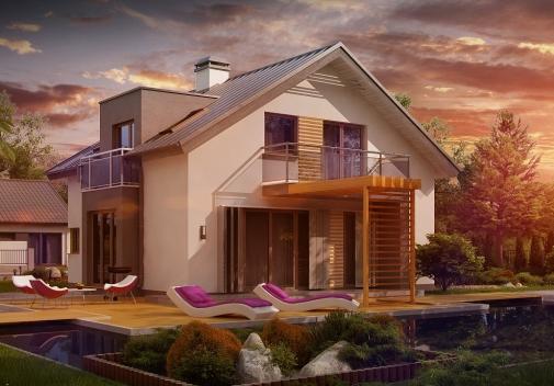Проект будинку Z245 у Києві