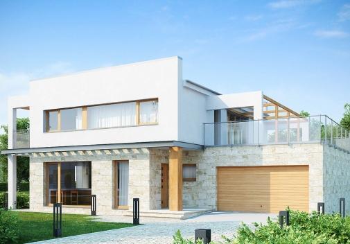 Проект будинку Zx5 у Києві