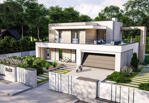 Проект будинку Zx31 у Києві