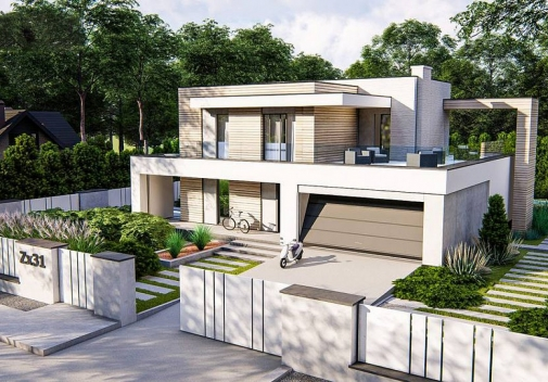 Проект будинку Zx31 в Киеве