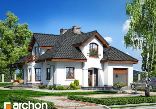 Проект будинку Будинок в зірках вер.2 у Києві