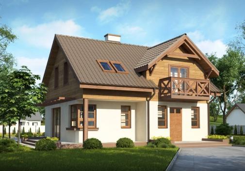 Проект будинку Z33 BG в Киеве