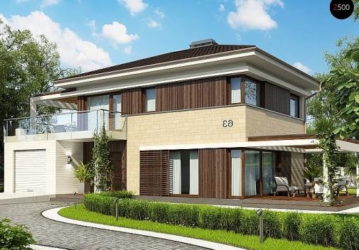 Проект будинку Zx63 C S у Києві