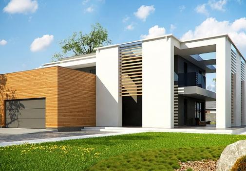 Проект будинку Zx75 у Києві
