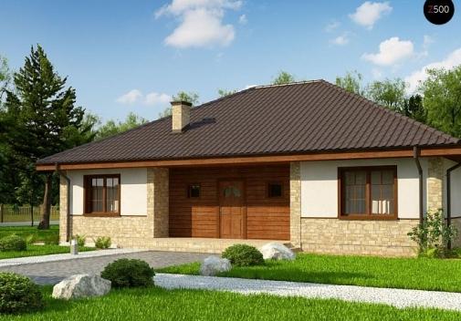 Проект будинку Zz10 v1 в Киеве