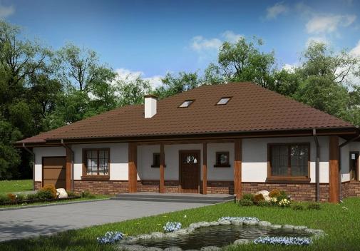 Проект будинку Z10 D sdu GL в Киеве
