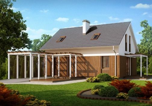 Проект будинку Z213 в Киеве