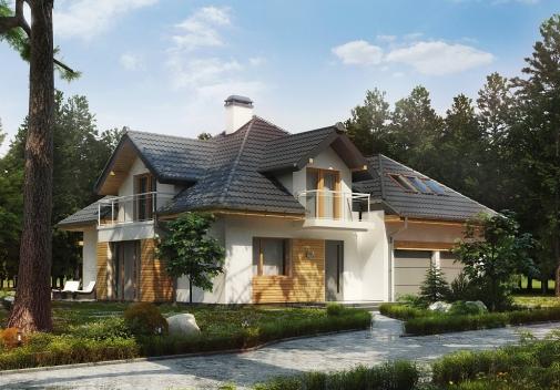 Проект будинку Z270 у Києві