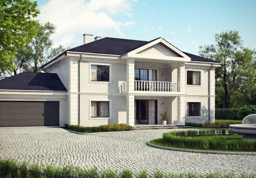 Проект будинку Zx113 в Киеве