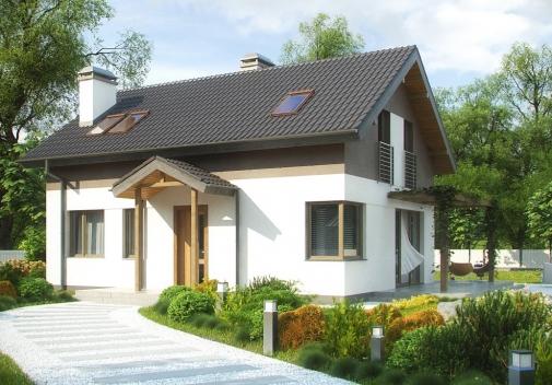Проект будинку Z233 в Киеве