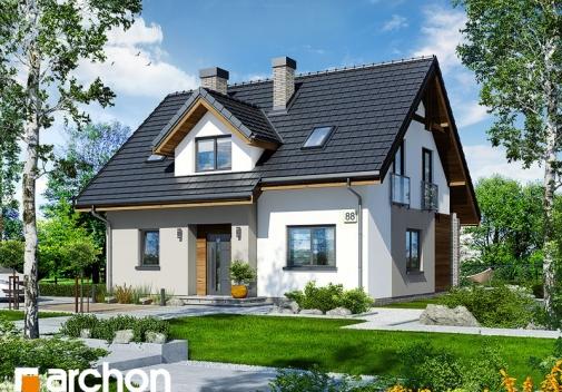 Проект будинку Будинок в хлорофітумі 5 у Києві