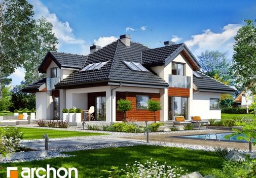 Проект будинку Будинок в хебе 2 вер.2 у Києві