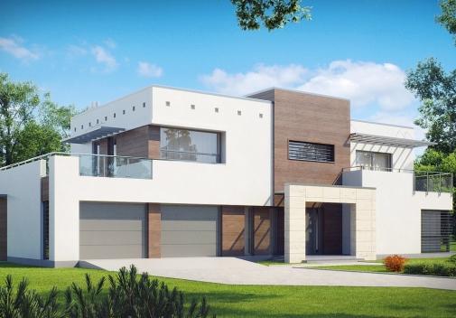 Проект будинку Zx15 GL2 в Киеве