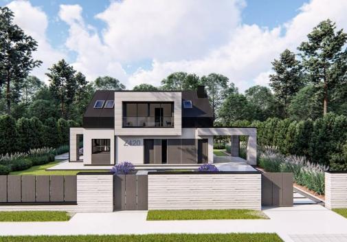 Проект будинку Z420 у Києві