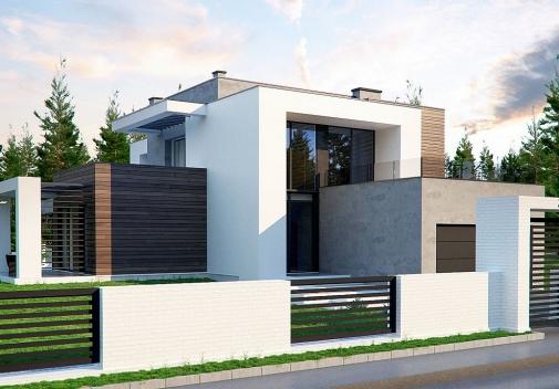 Проект будинку Zx125 у Києві