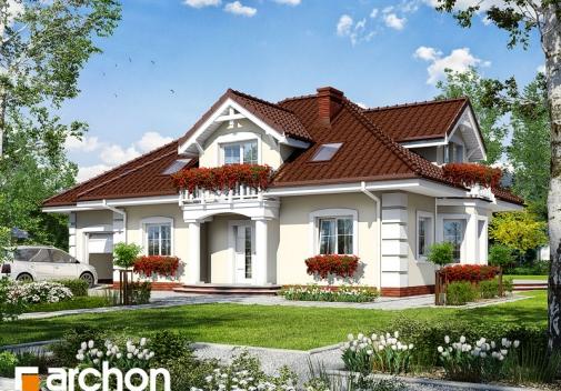 Проект будинку Будинок в ехінацеях 2 вер.2 у Києві