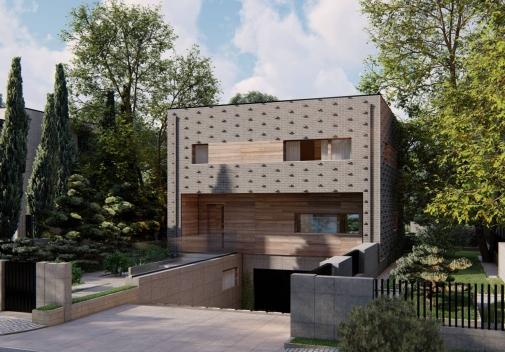 Проект будинку Zx216 в Киеве