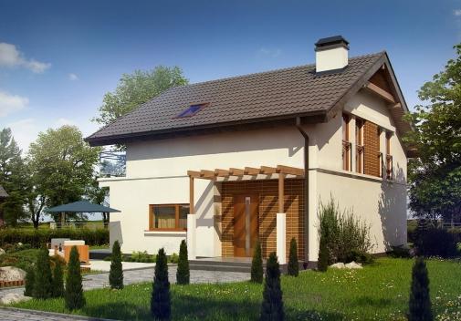 Проект будинку Z248 у Києві