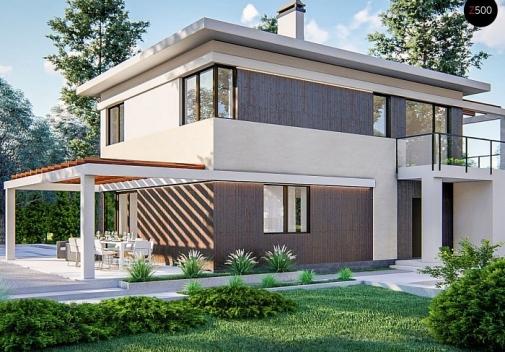 Проект будинку Zz63 B
