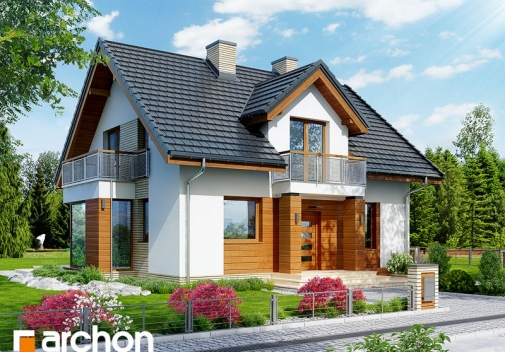 Проект будинку Будинок в рододендронах 6 (ВH) у Києві