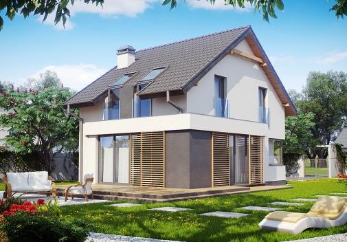 Проекти будинків з мансардою у Києві