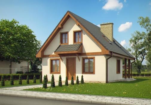 Проект будинку Z30 L bl в Киеве
