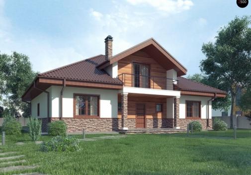 Проект будинку Z10 stu bk v1 в Киеве