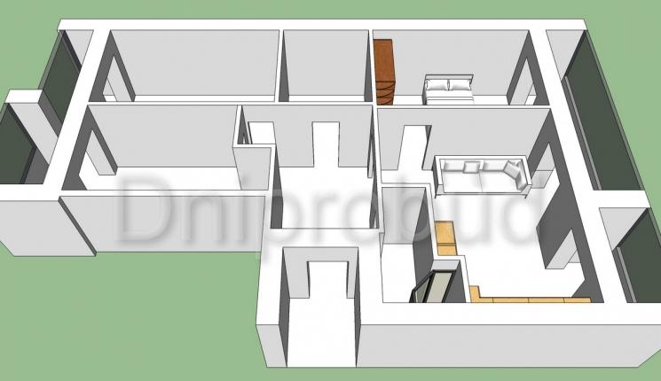Квартира в районі вул. Робочої