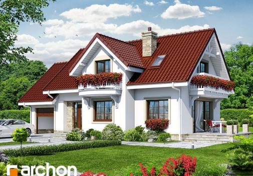 Проект будинку Будинок в лобеліях 2 вер.2 у Києві