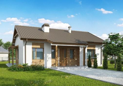 Проект будинку Z136 minus у Києві