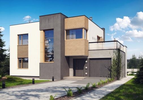 Проект будинку Zx59 в Киеве